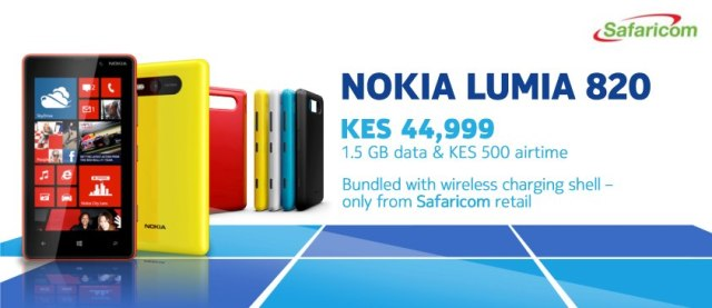 Nokia Lumia 820 Safaricom Offer