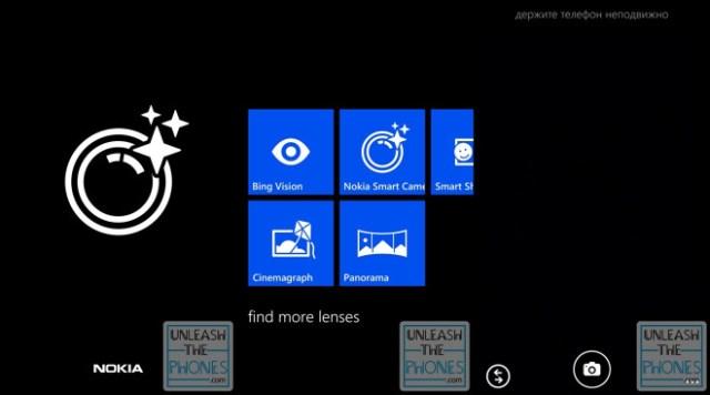 Nokia Smart Camera lens