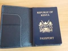old kenyan passport