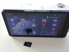 Galaxy Camera microSD