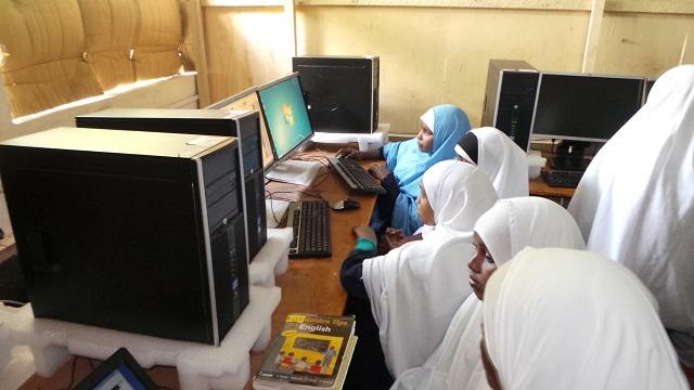 Girls at Hagadera Secondary School