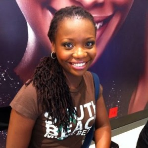 Octavia Khumalo, PR and Marketing Head for the dotAfrica Project