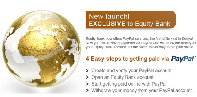 Equity Bank Paypal Withdrawal
