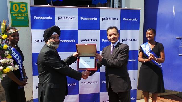 Panasonic Plaza opening