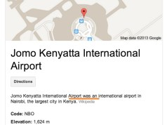 JKIA was an airport