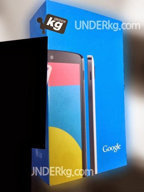 Nexus 5 packaging