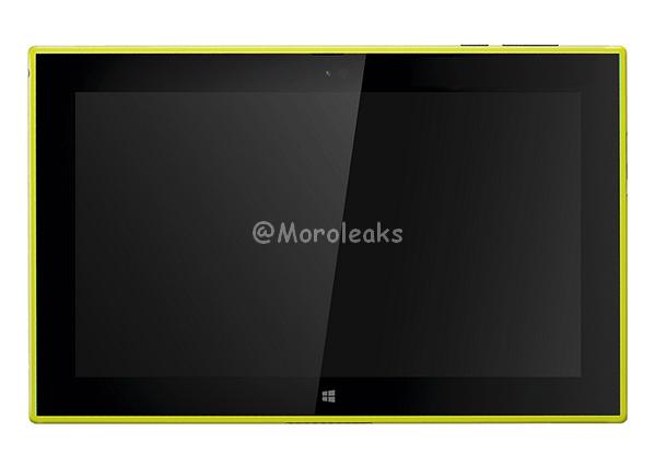 yellow Lumia 2520