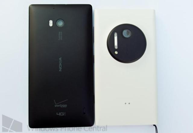 Lumia 929 back