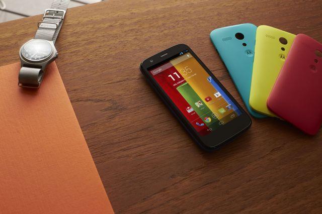 Motorola Moto G press image