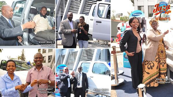 Jaza Keja winners