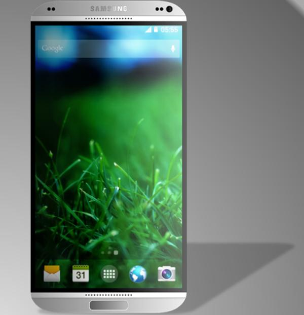 Samsung Galaxy S5 design