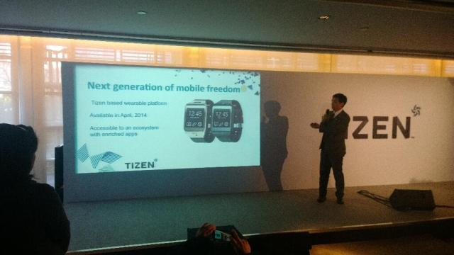 Tizen for smartwatches