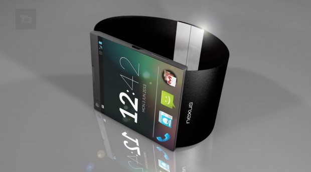 Google smartwatch concept image