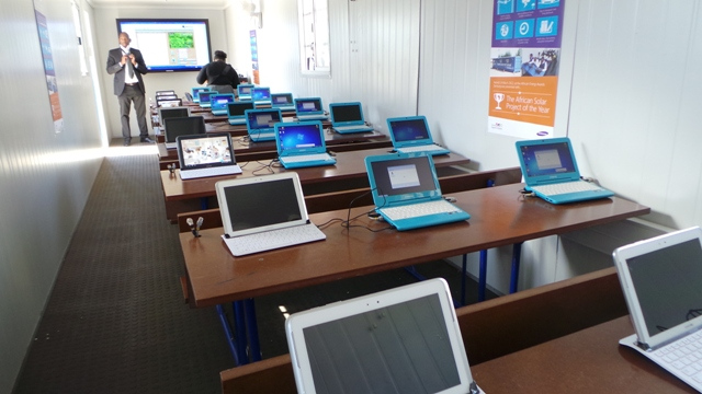 Solar Powered Internet School