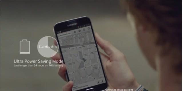 Ultra Power Saving Mode Samsung
