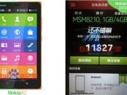 Nokia X2 Screenshot