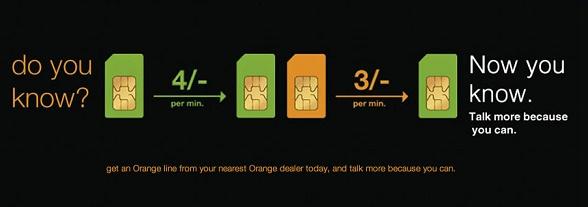 Orange rates