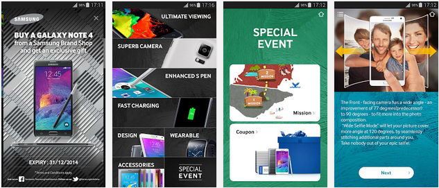 Galaxy Note 4 Experience App