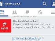 Airtel Free Facebook