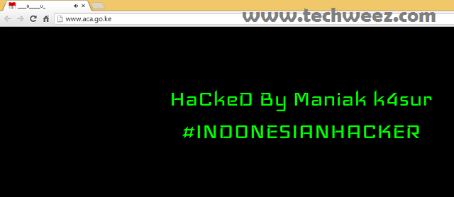 Anticounterfeit agency website hacked