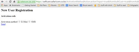 Safaricom auth