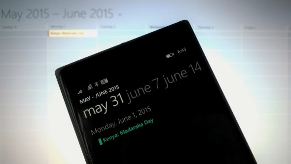 Add Kenyan holidays to your Windows Phone device.