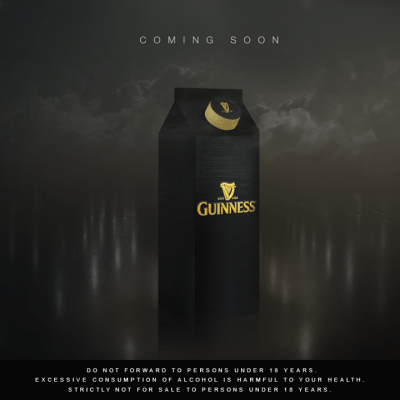 Guiness in a Tetra Pack