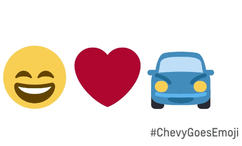 Chevy Goes Emoji