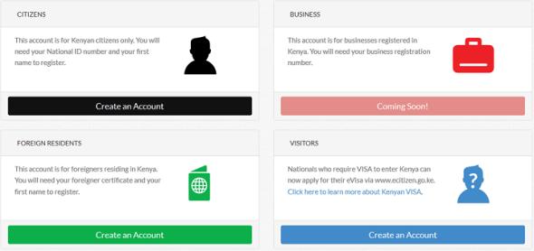 e-citizen registration