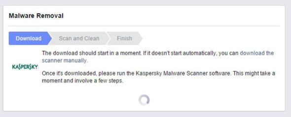 facebook kaspersky
