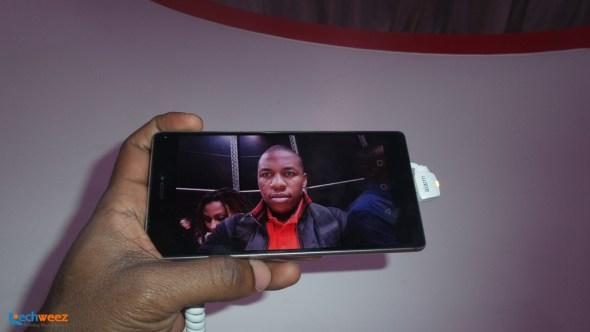Huawei P8 selfie champ 1