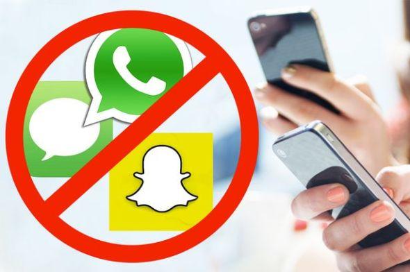 Messaging app bans