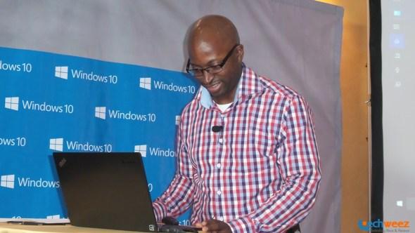 Microsoft Windows 10 Launch Nairobi Kenya