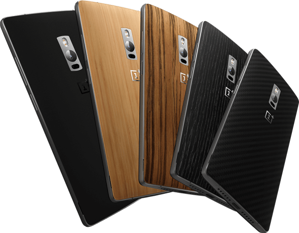 OnePlus 2 various back covers