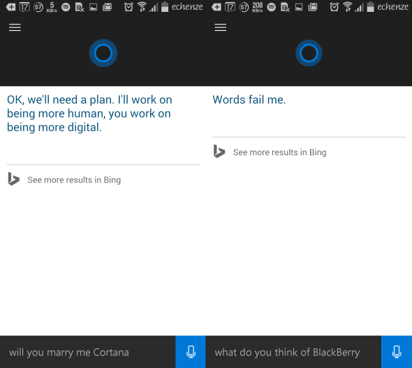 cortana for android - techweez 1