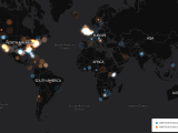 Uproar over the death of Cecil the lion as visualized on Twitter