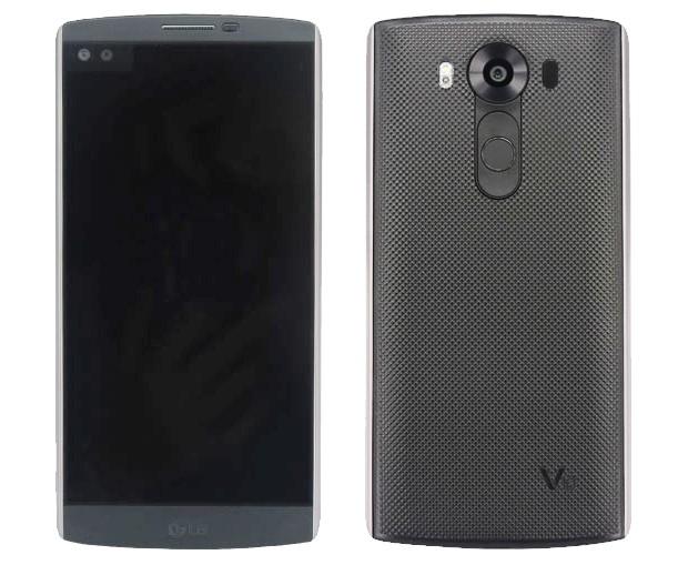 The V10, LG's latest premium smartphone