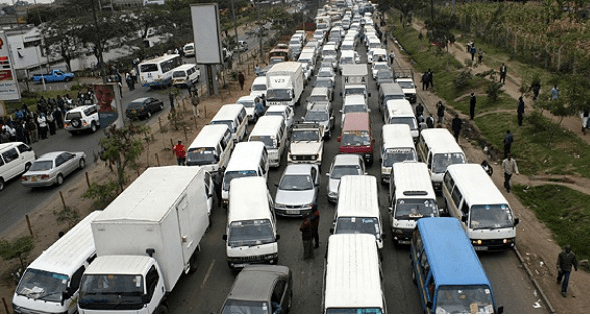 Nairobi traffic