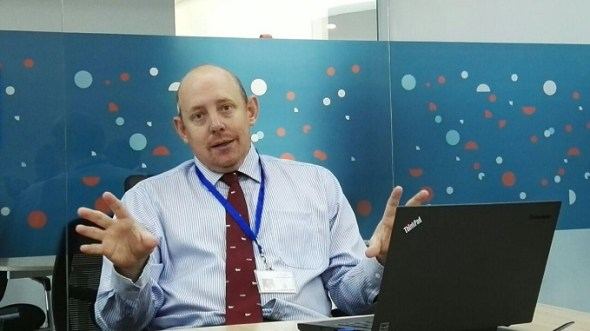 Justin Larby, Business Development Manager Interswitch EastAfrica