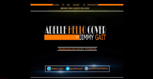 Jimmy Gait hello cover
