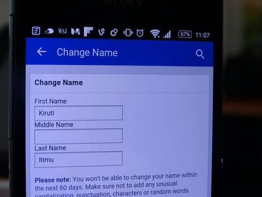Facebook Real Name