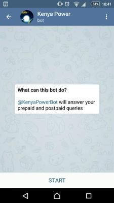 Kenya Power bot 1