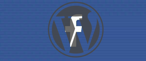 Facebook wordpress plugin graphic