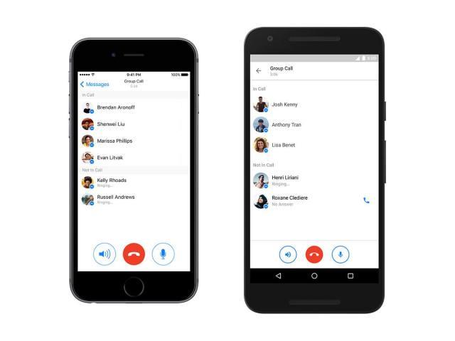 Facebook Messenger Group calling