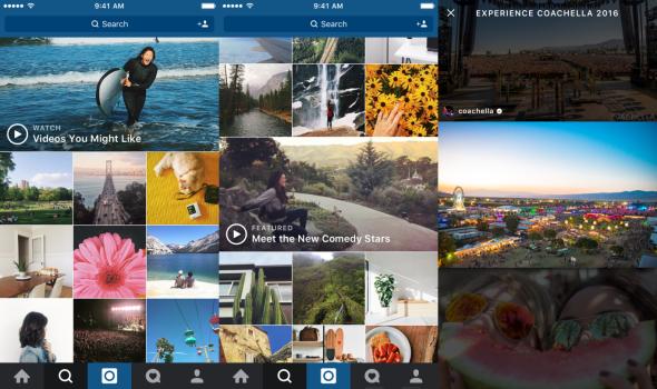 Instagram video channels