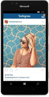 instagram windows phone 10