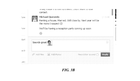 Facebook emoji patent