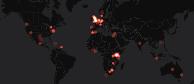 twitter ivory burn visualization