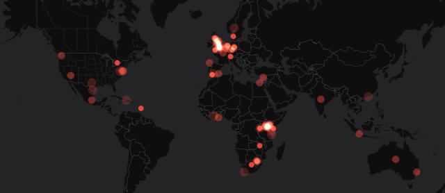 twitter ivory burn visualization