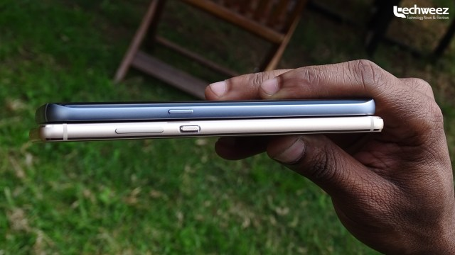 Huawei_P9_thickness_comparison_Galaxy_S7